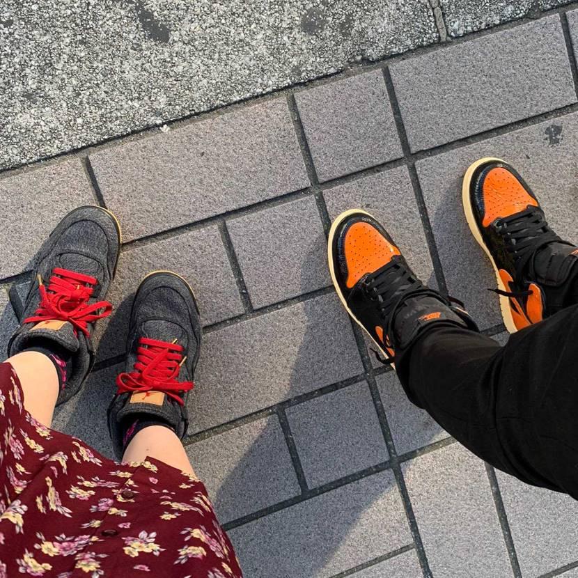 初履き 発売後すぐ履いて街歩くと 絶対被る人がいる