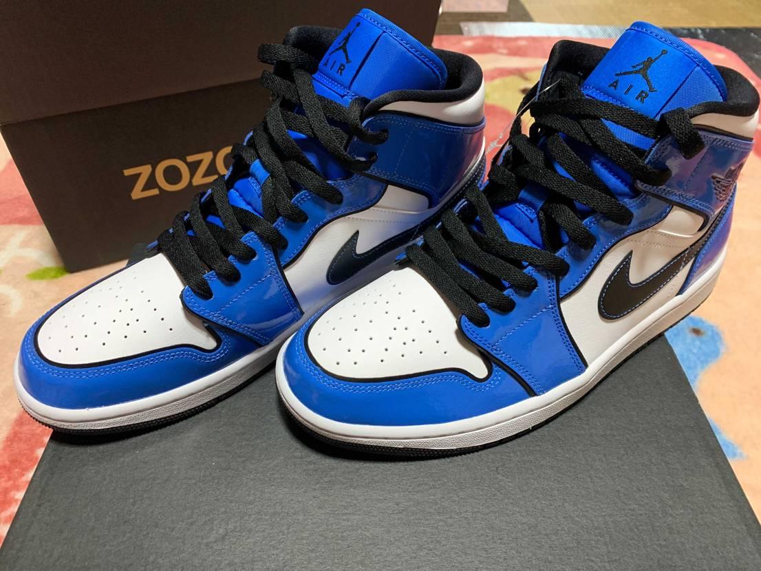 ZOZOから青いブツが到着しました👍🏻思ったよりいいかもしれない😊あとはGOT'