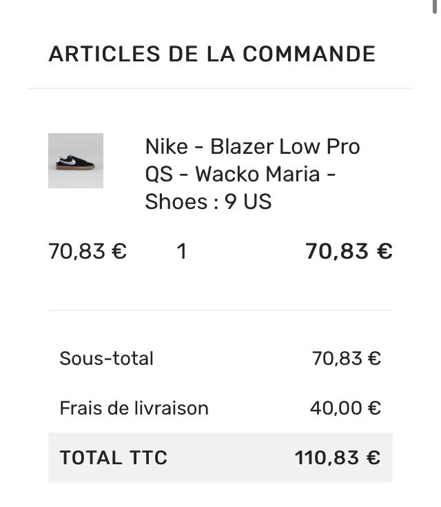 フランス語よくわからんけど普通に買えた! Google翻訳すごい 関税安いと