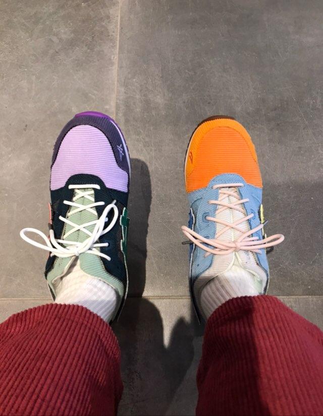 履き心地最高👍 最近全然靴買えてない…