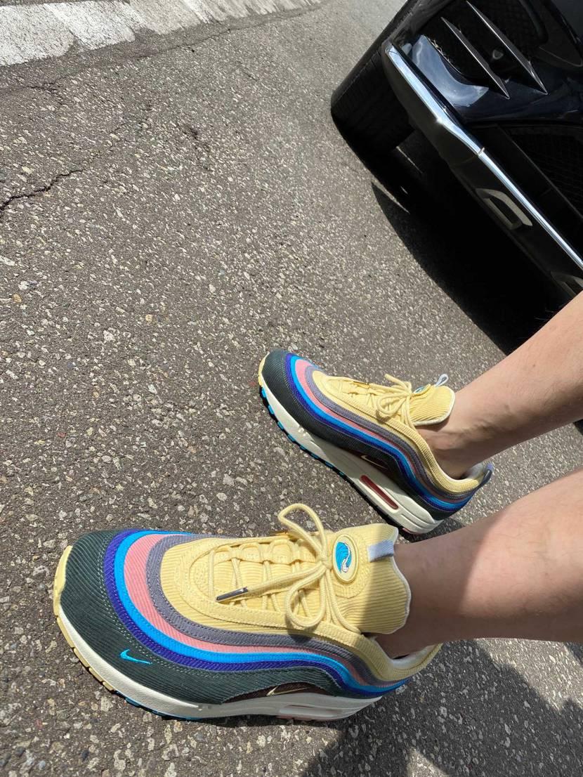 ざす!  早速履いてみました。 連日札幌も暑いです。 今日は、午後から精