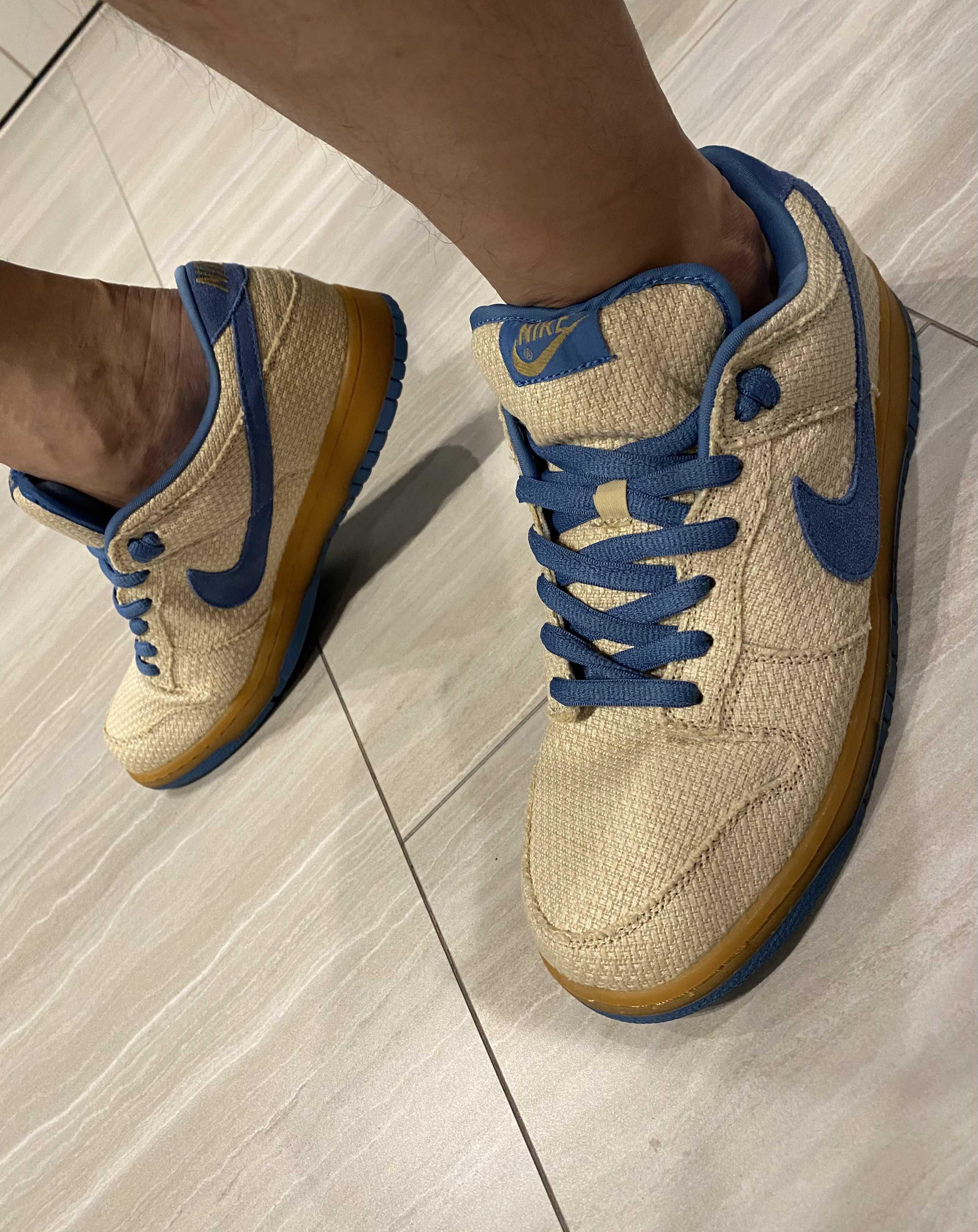 Nike SB DUNK Low Hemp Blue