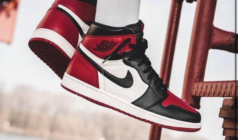 bred toe欲しいな〜、、、でも高い😭#nike #aj1 #aj1ほしいな