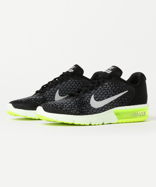 AIR MAX SEQUENT2 BLK/MCLGY