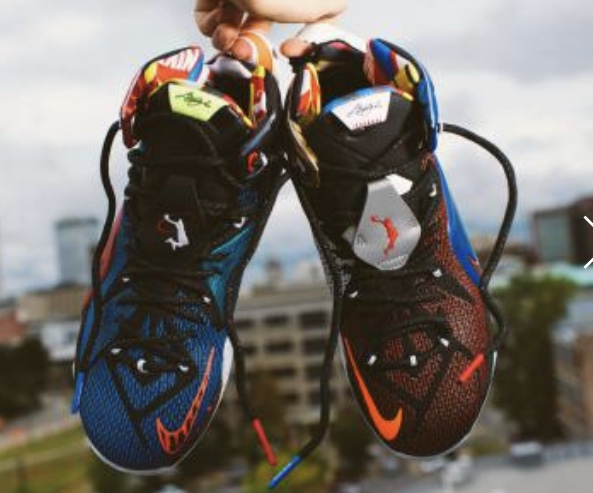 """NIKE LEBRON XII SE """"What The""""MULTI-COLOR"""