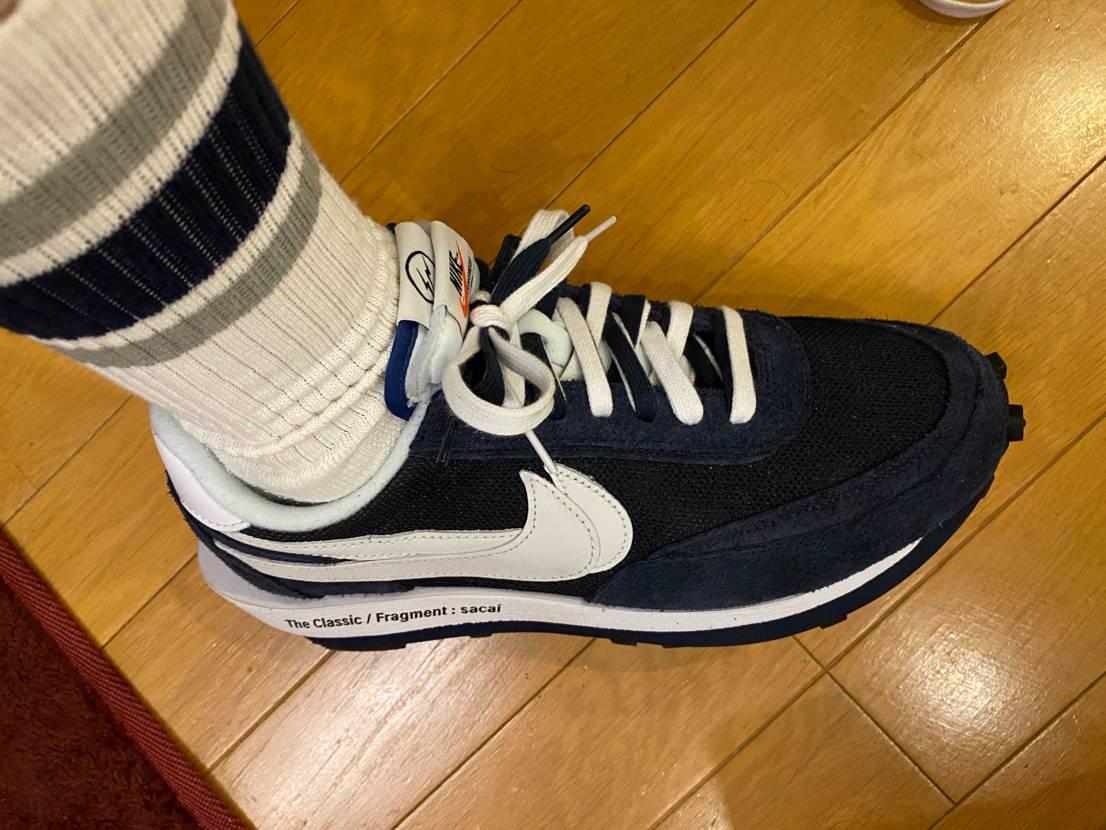 昔偶然買ったユニクロの靴下に色味めちゃ似てる!