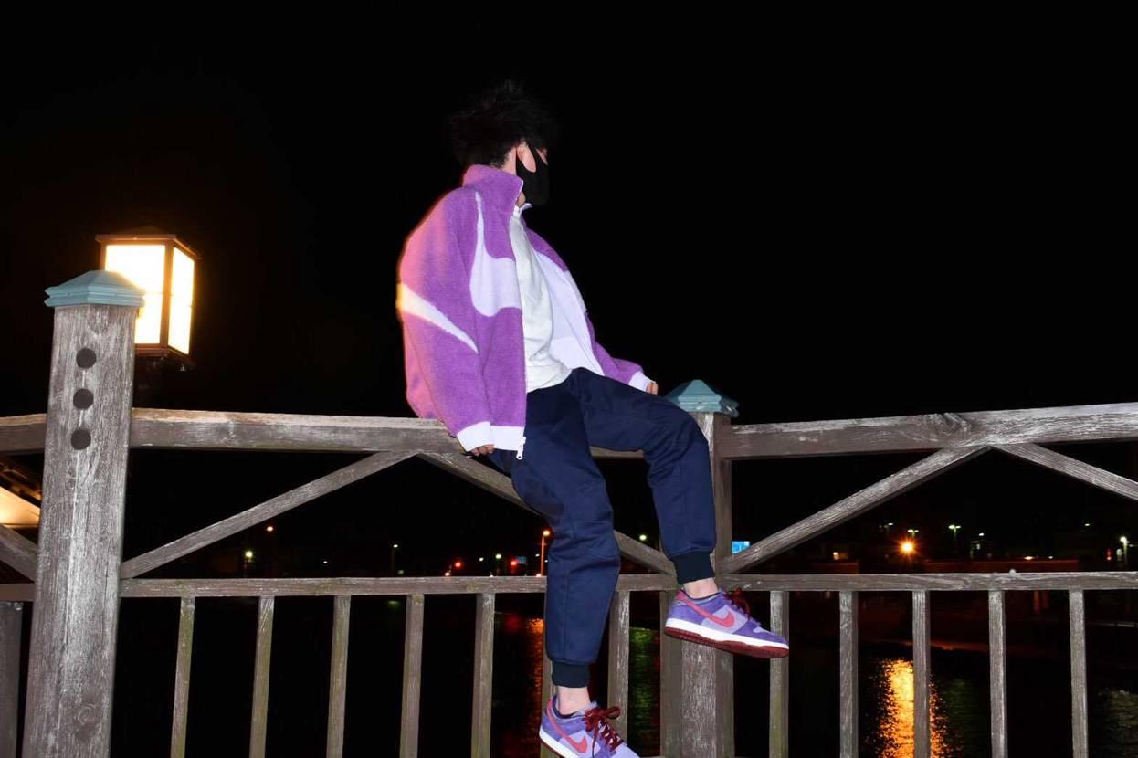 プラムに、惹かれて高いけど買っちゃいました〜 紫ファッション始めてだったけどな