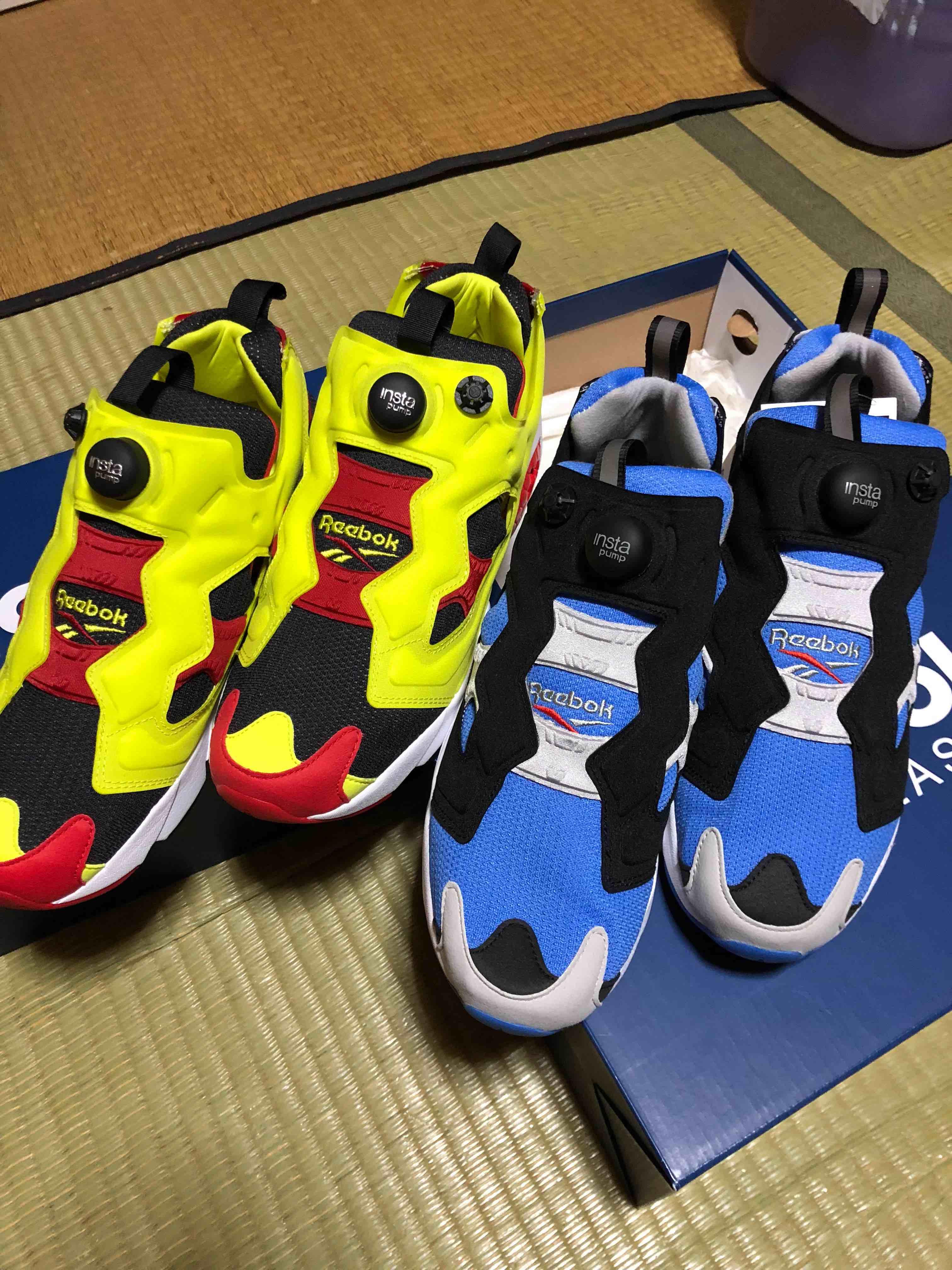 #スニーカー  ポンプフューリー ダブルゲット! 皆さん履くなら、どっちか