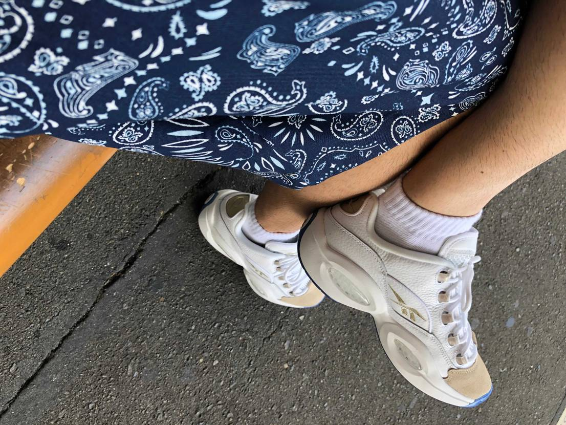 夏がきたー。 かっこいいし履きやすいし被らないしで言うことなしです!