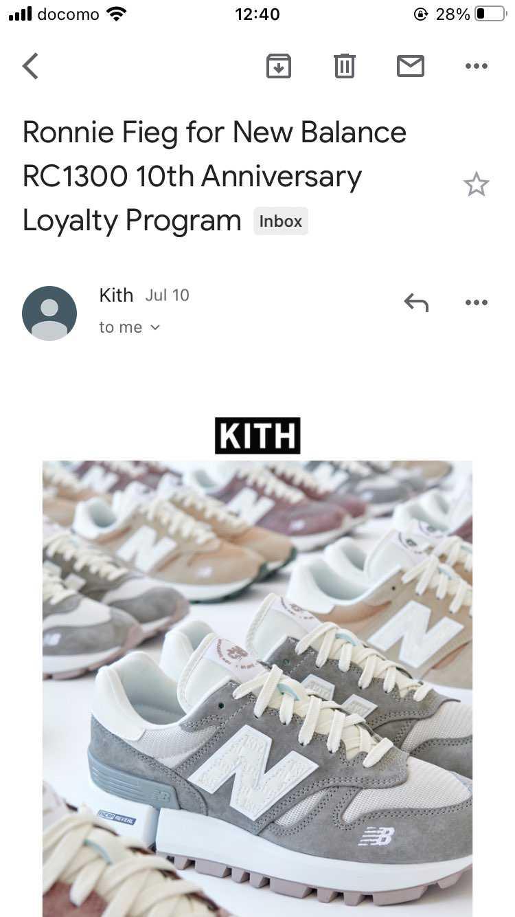 Loyalty Programが来ました! 2色買いましたが、関税めっちゃ高い