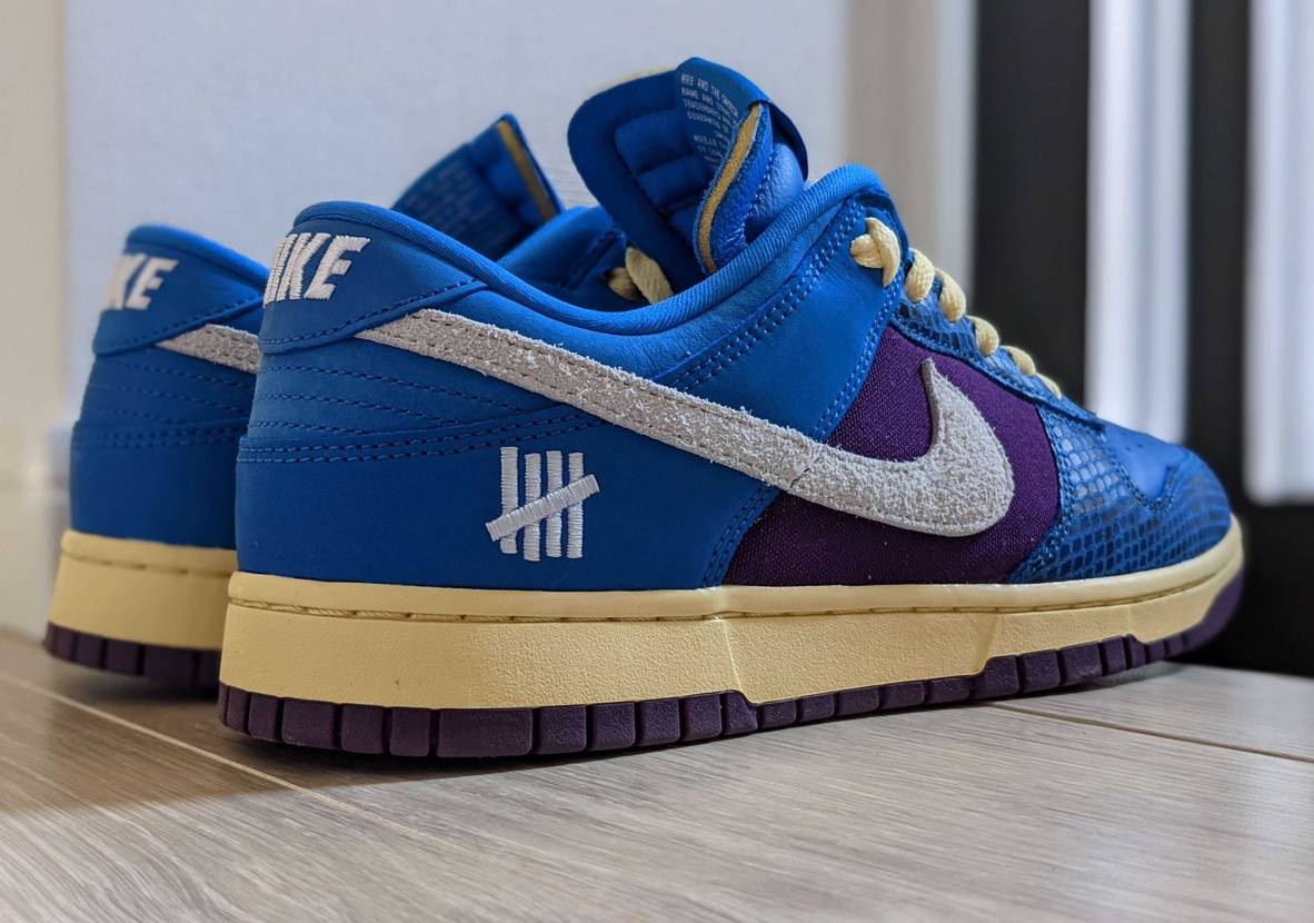 """UNDEFEATED × NIKE DUNK LOW SP """"ROYAL""""  こ"""