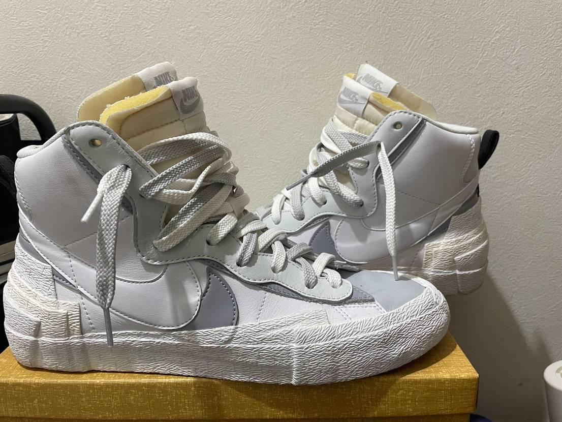 大人気Nike×sacaiのコラボシリーズから、ブレザーミッドでございます。