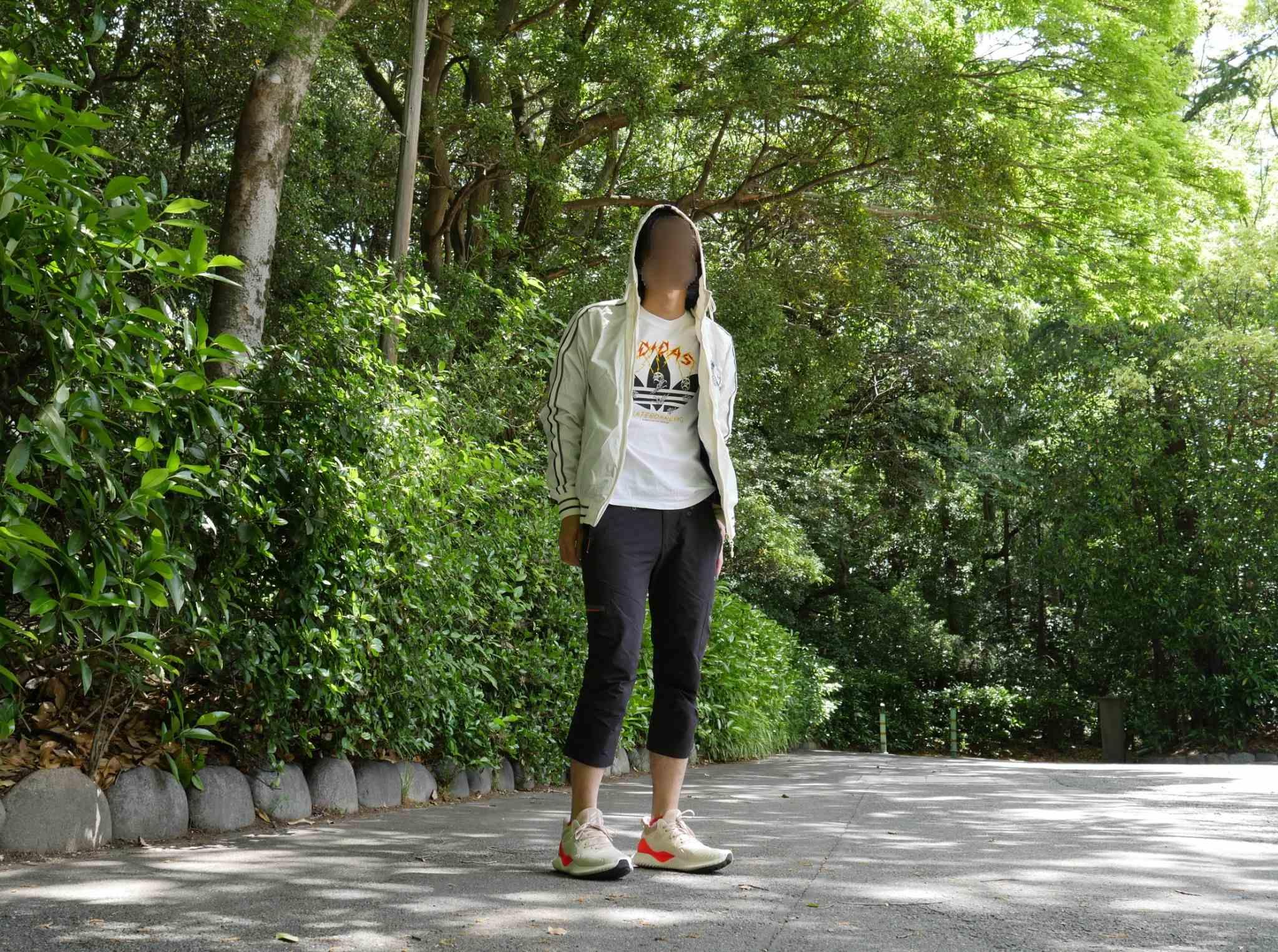 adidas ALPHABOUNCEコーデ ひたすら歩きやすく、動きやすい! #