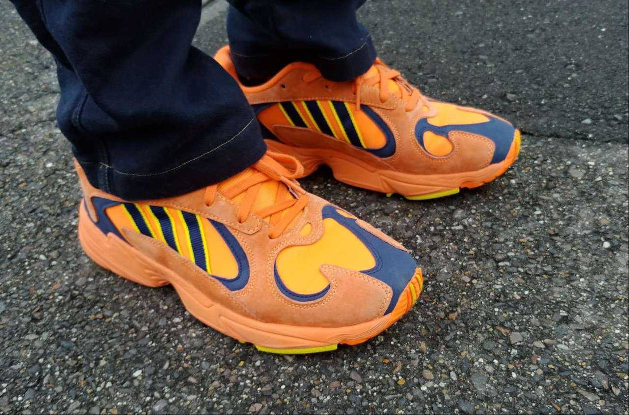 adidas originals YUNG-1 昨日出かけたときに履いてた一足
