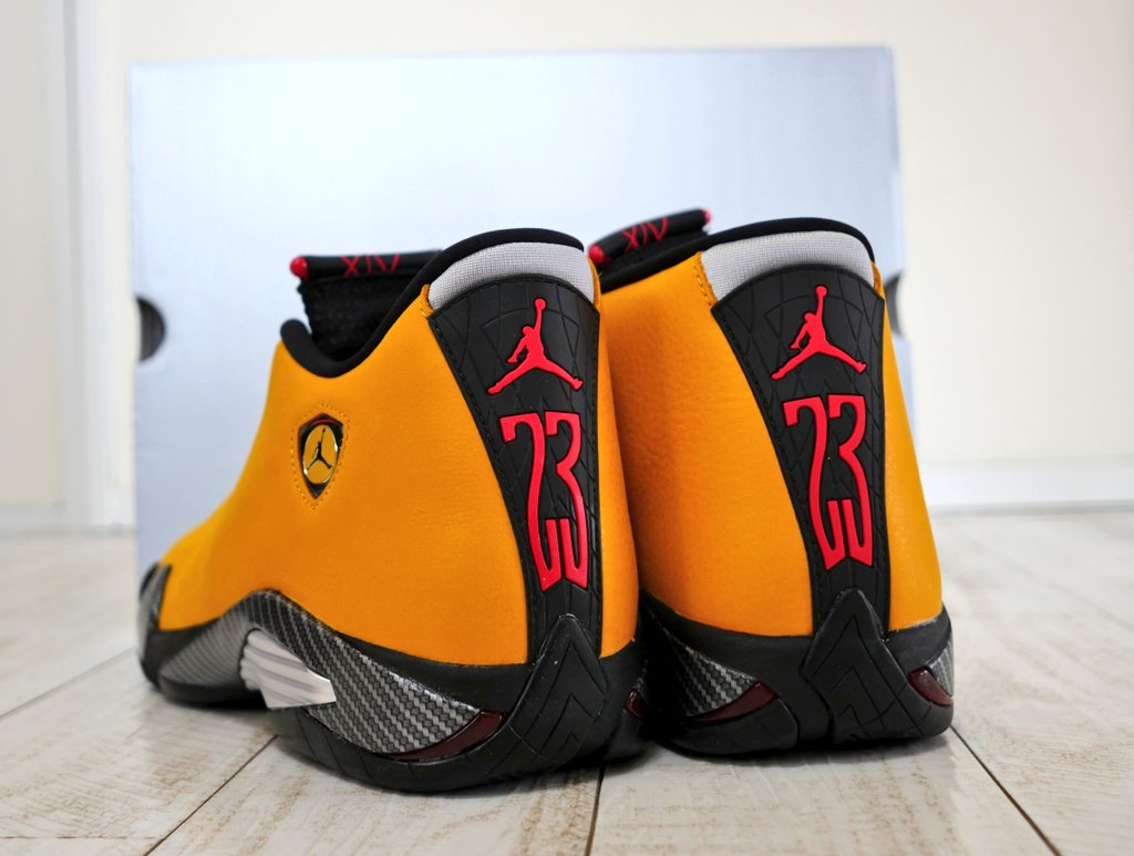 NIKE AIR JORDAN 14 YELLOW FERR