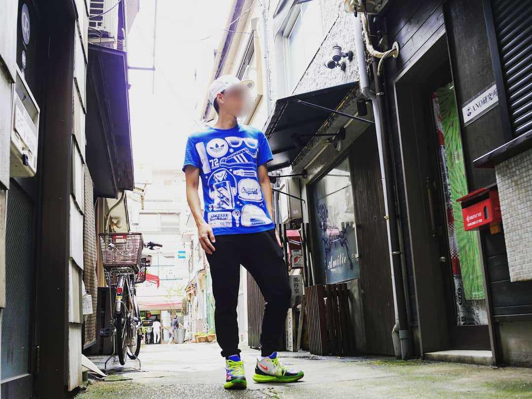 ROKIT × NIKE KYRIE 5 MULTI COLOR  日本では人気