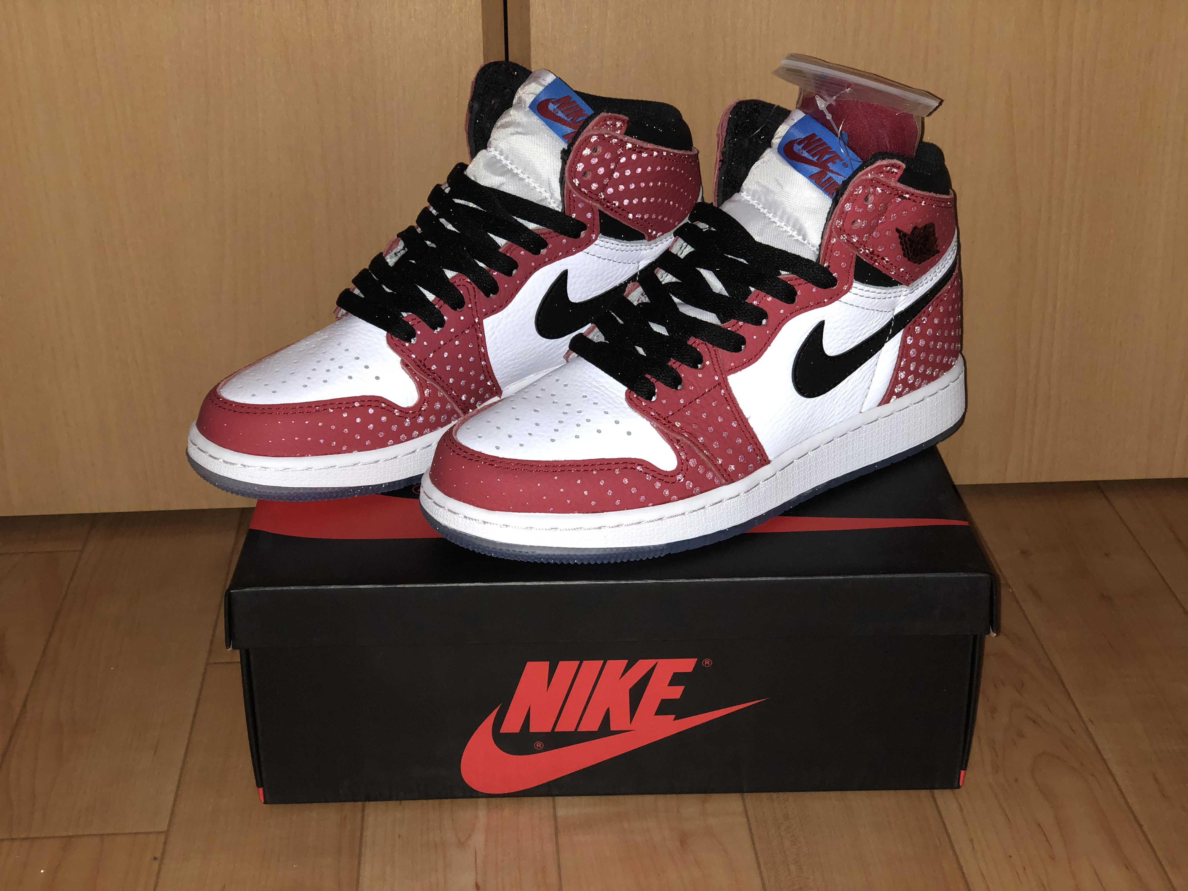 Air Jordan1 retro high og spider-man