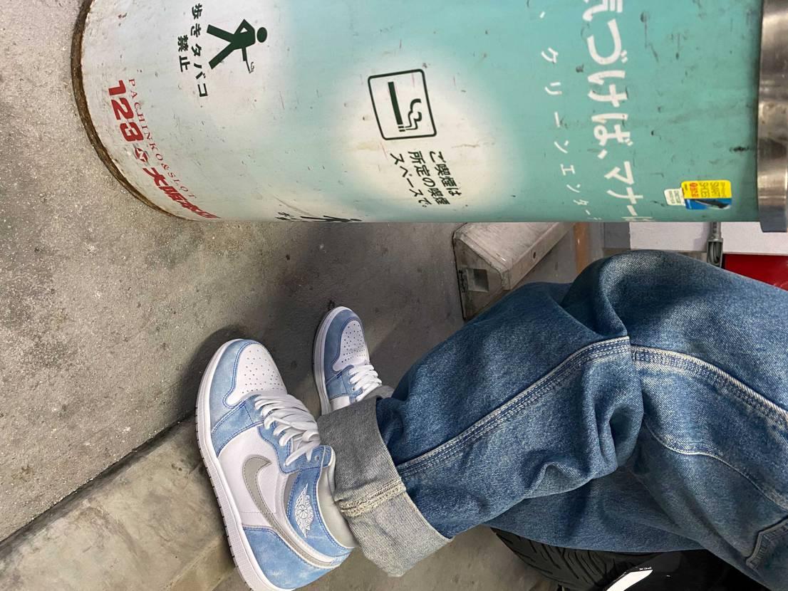 AJ1履いてパチ屋で吸うタバコは超chill