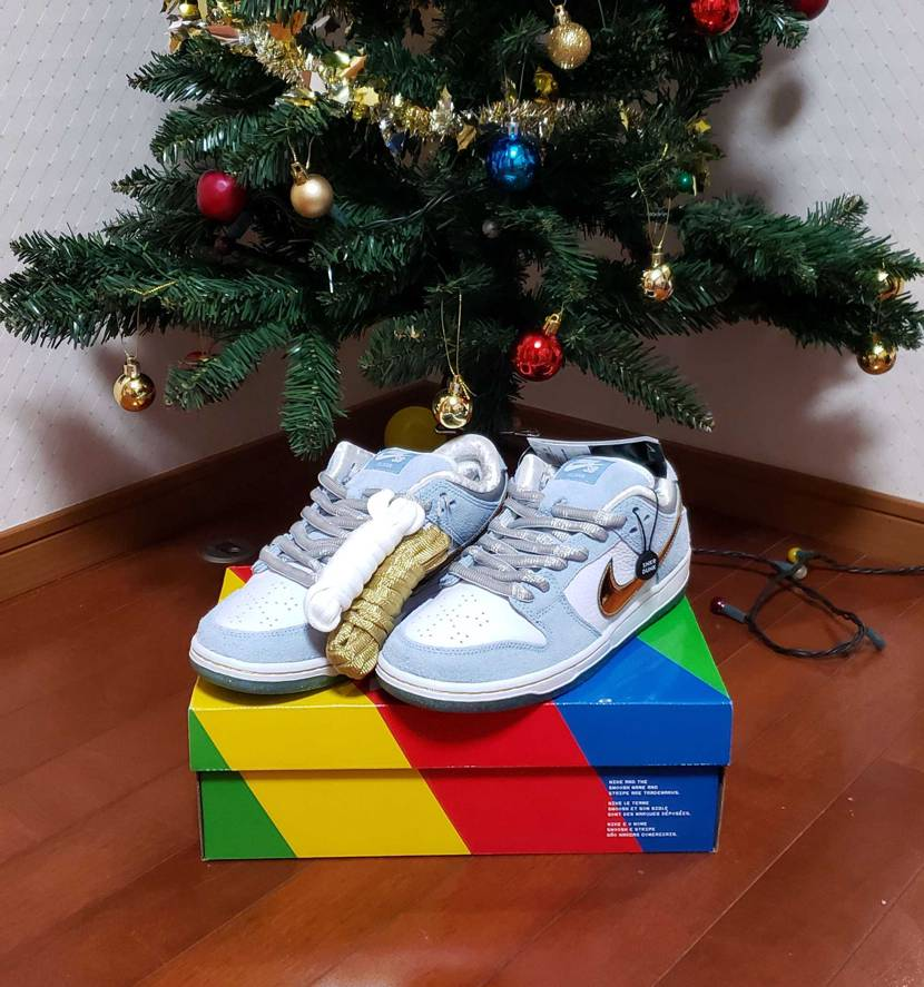 Snkrs落選当日に購入したものが クリスマスに爆着🎄🎅🎁✨  完璧♥️早速明日