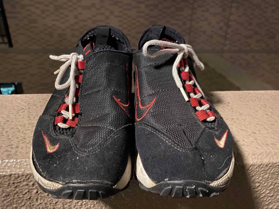 NIKE AIR FOOTSCAPE、1996年モデル🧐 一番最初のモデルです