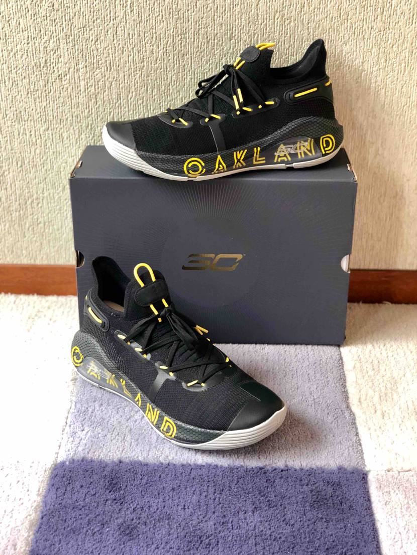 "UA  CURRY 6 ""Thank you, Oakland
