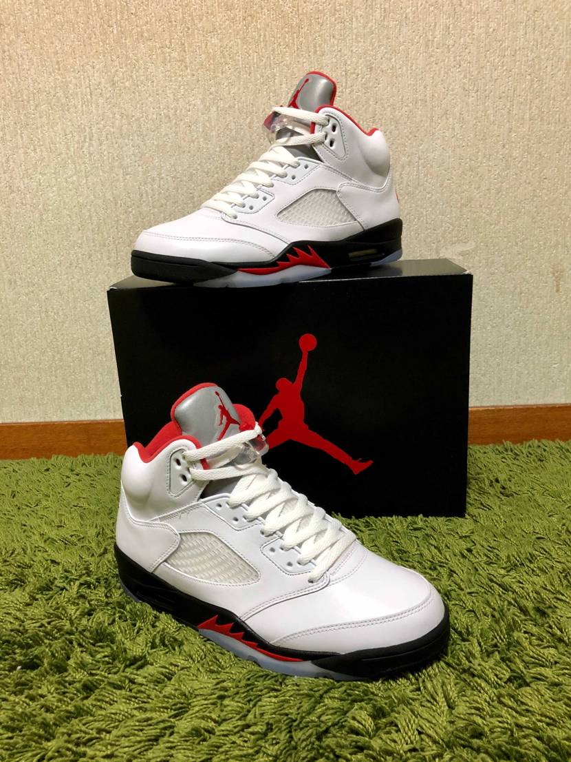 NIKE AIR JORDAN 5 RETRO FIRE RED