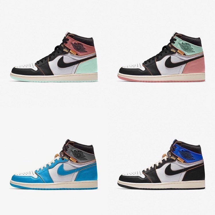 UNION x Nike Air Jordan 1 Coming Soon..