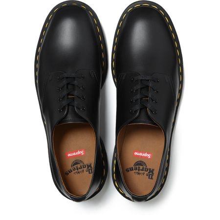 supreme x dr.martens 4-eye shoe black