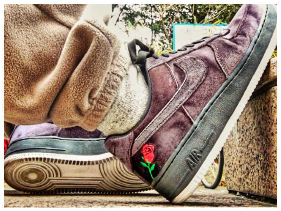 """Nike Air Force 1 """"VELVET"""""""