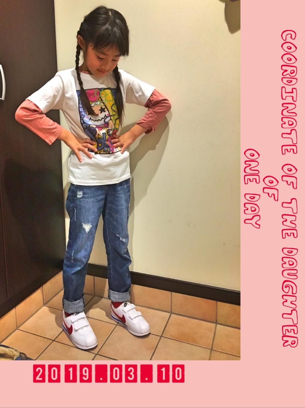 ・ 💓👧🏻👟 Coordinate of the daughter of on