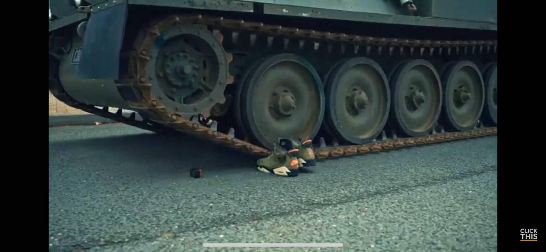 今回は戦車でトラヴィス AJ6踏むとはw 毎度crepはぶ