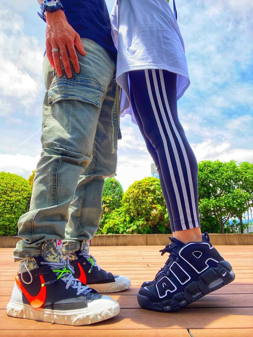 脱ぎ履きしにくいスニーカーだと個人的な意見😇 でも気にならへんぐらいかっこいい
