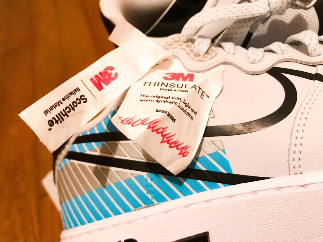 Nikeメンバー限定のAIR FORCE 1 REACTも良いですよ、 分厚い