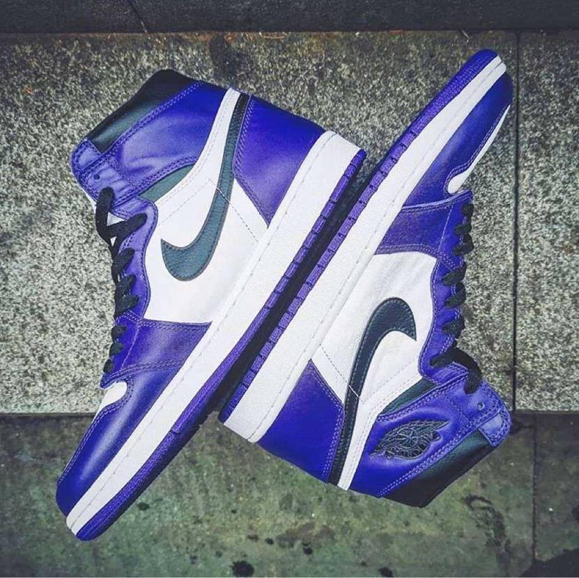 "Air Jordan 1 Retro High OG ""Court Purple"