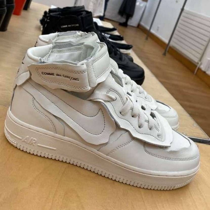 Comde x air force1 mid 2color