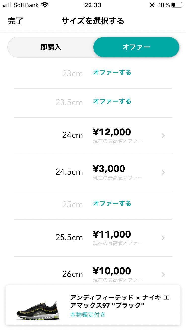 3000円以上のオファーがないと言うのは それほど需要がないのですね。。。