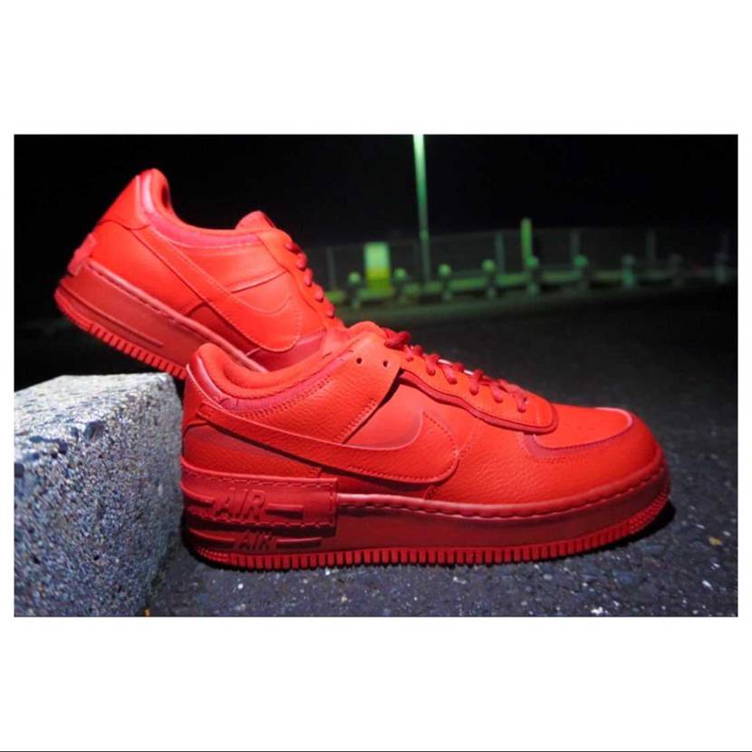 AIR FORCE 1 SHADOW UNIVERSITY RED #nike