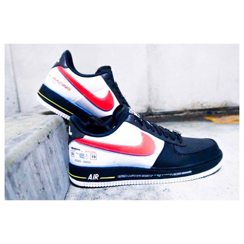 AIR FORCE 1 QS MOTORSPORTS #nike #airfo