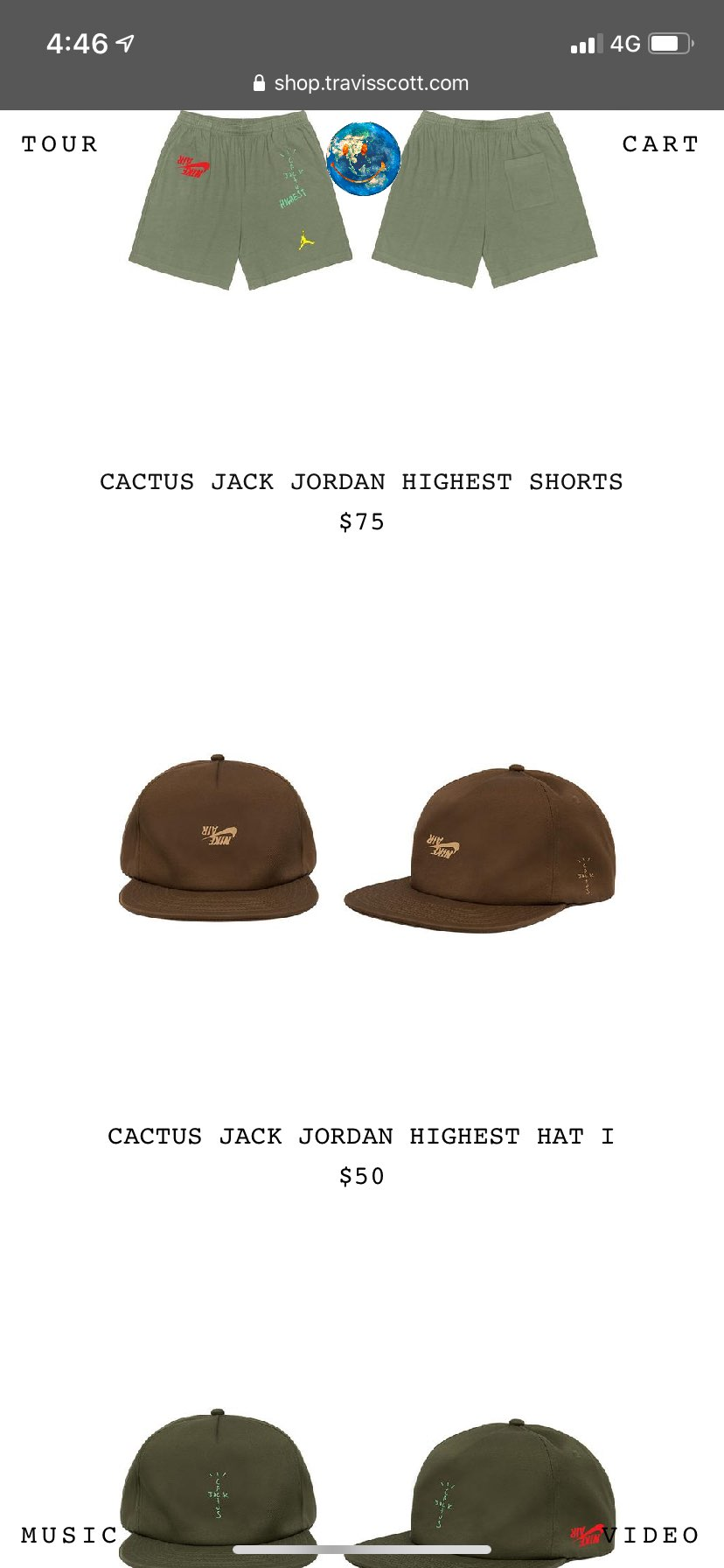 帽子購入〜!何気に海外の買い物初めてでした。関税どのくらいかかるんだろう…
