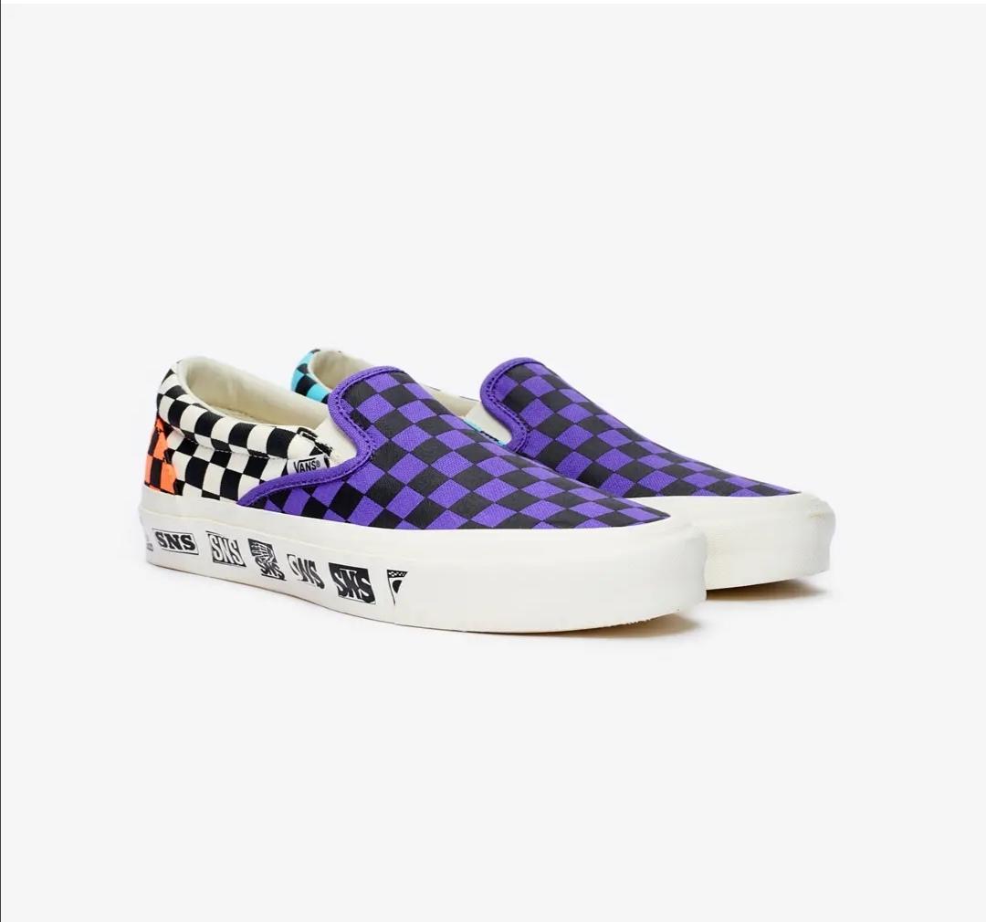 Vans OG Classic SLip-On LX x Sneakersnstuff