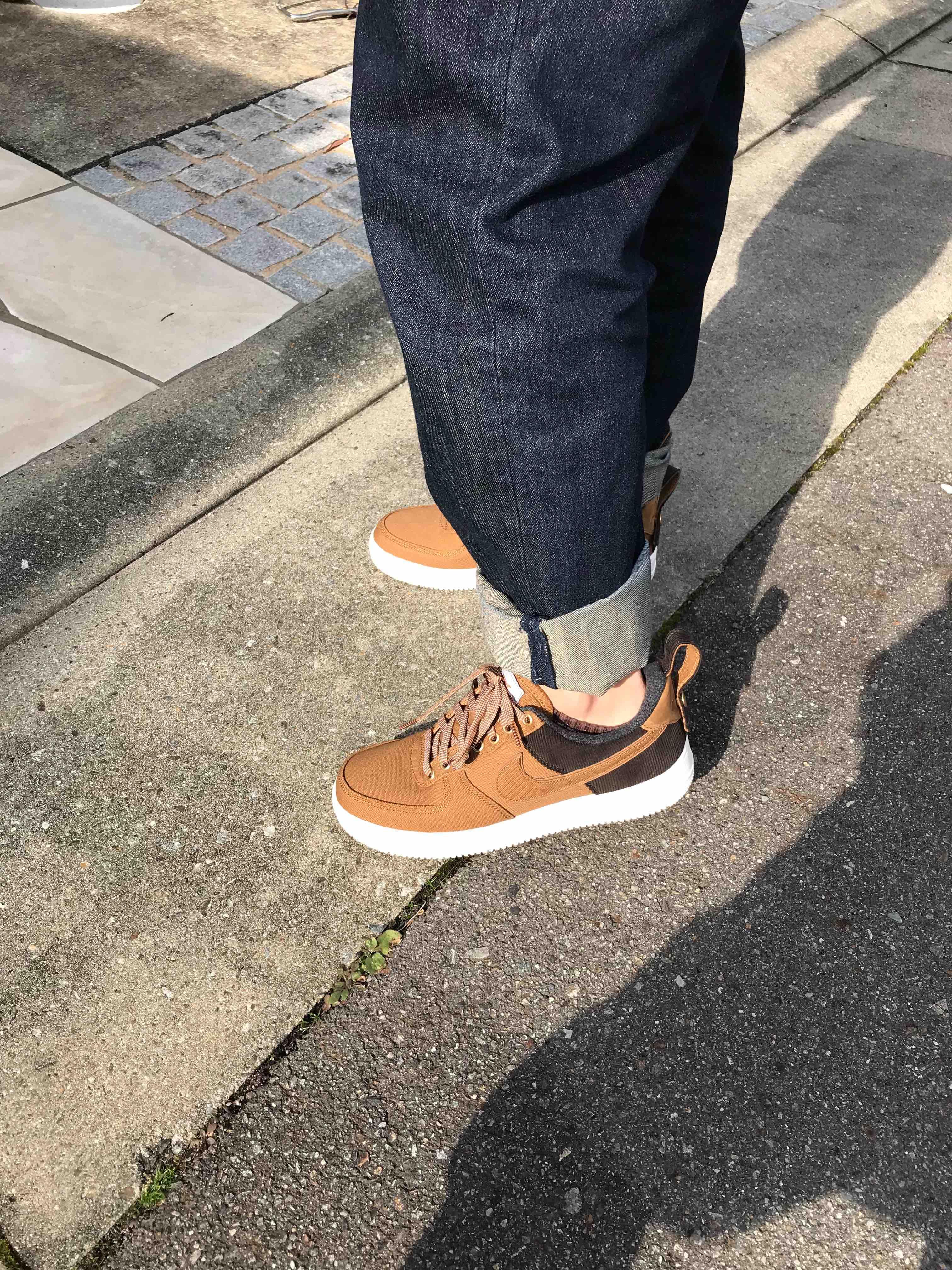 #初履き #カーハート  今年初履きで、やっとおろした。 やっぱ新しい靴は