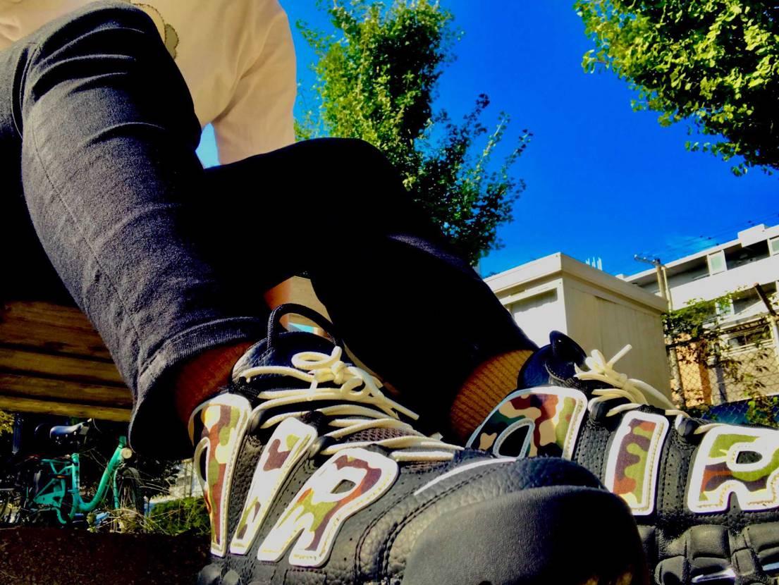 KAWSーー  本日はモアテンカモ🦆  すごく重たくて、自分は足が痛くな