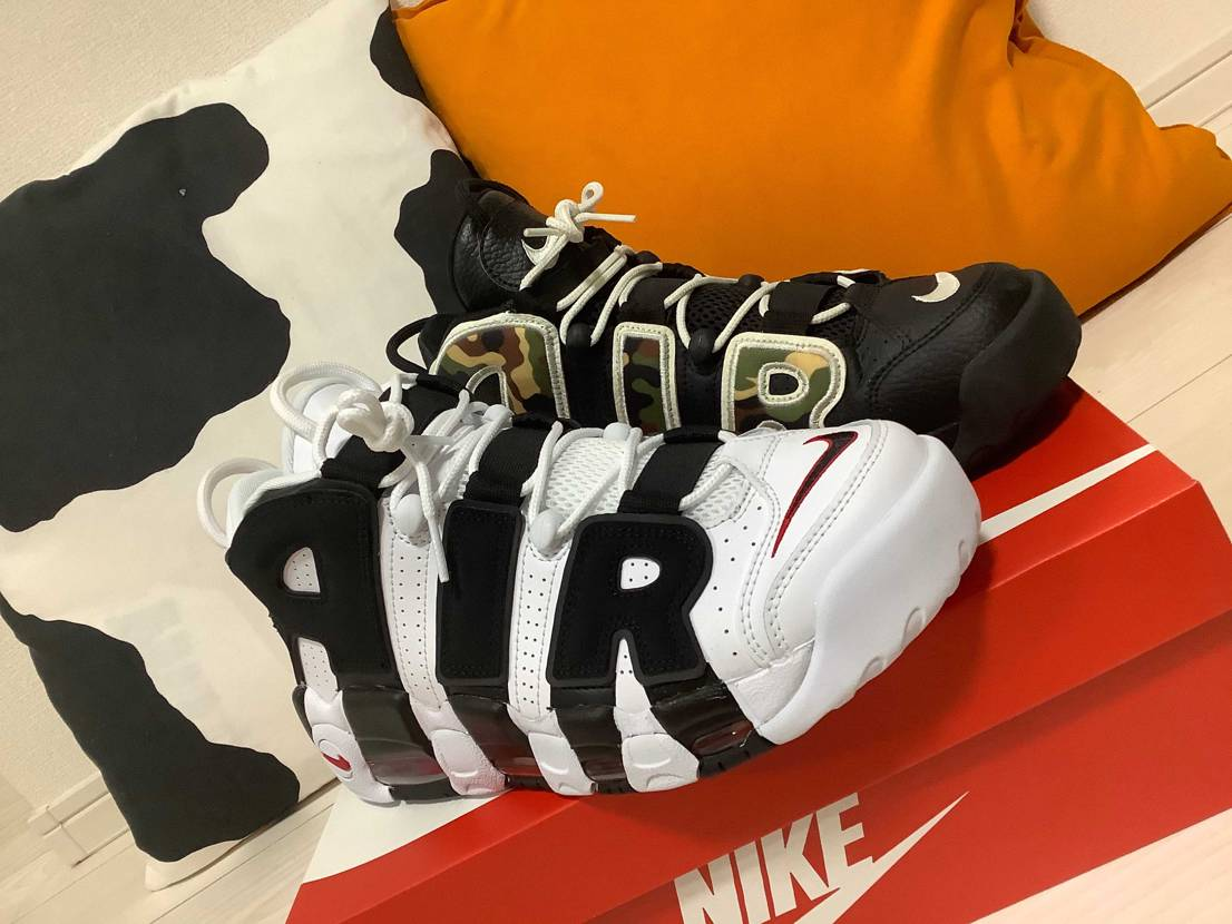 AIR MORE UPTEMPO  昨日帰ったら届いてま