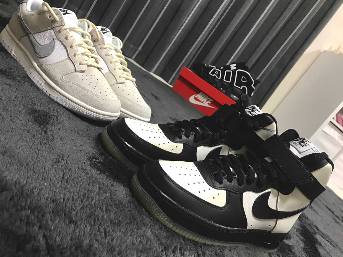 by by you you dunk air force1