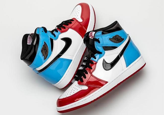 "Air Jordan 1 fearless ""ici Paris""  #n"