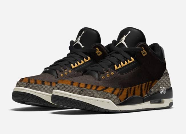 NIKE AIR JORDAN 3 ANIMAL PACK