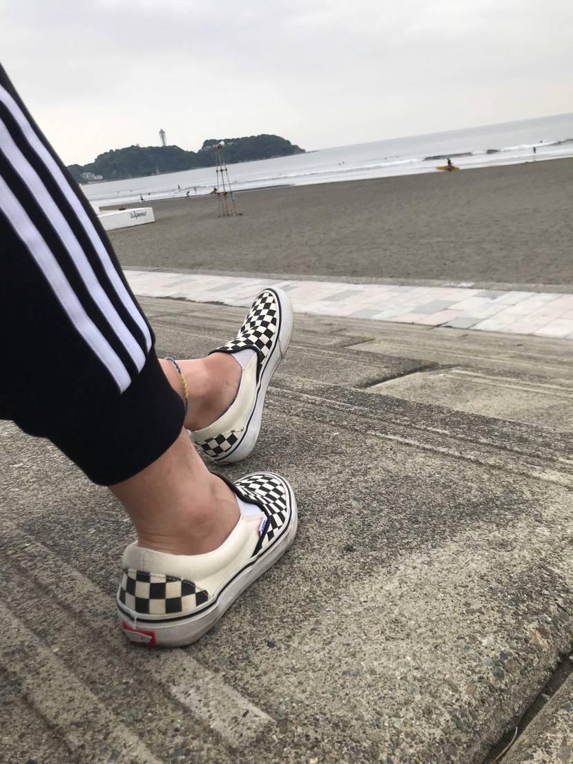 今日は江ノ島にサーフィンしに行ってきました🏄♂️ 千葉住みでいつも父親と千葉