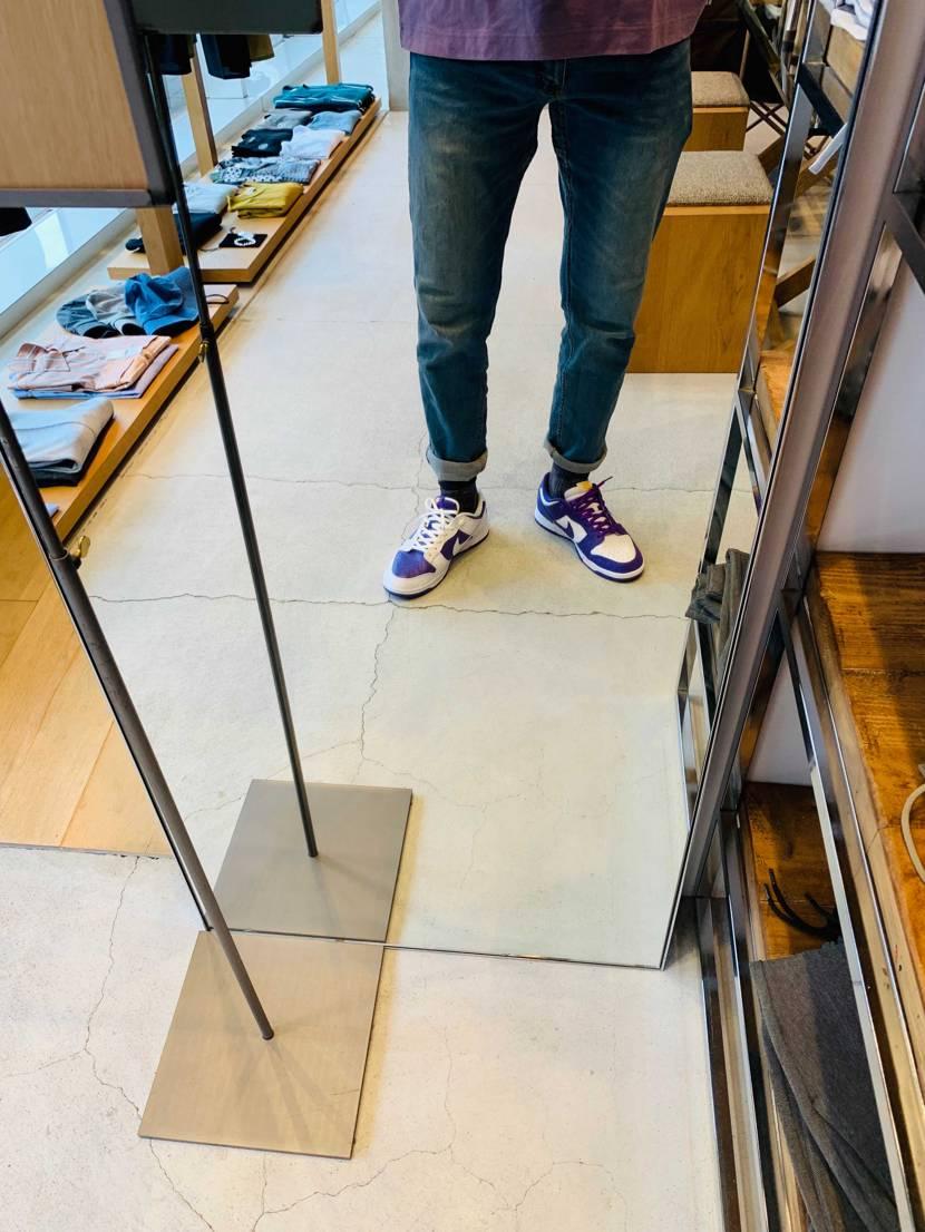 左右非対称の靴を履いたのは初めてですが、意外と合わせやすいですね👹 以前、発売