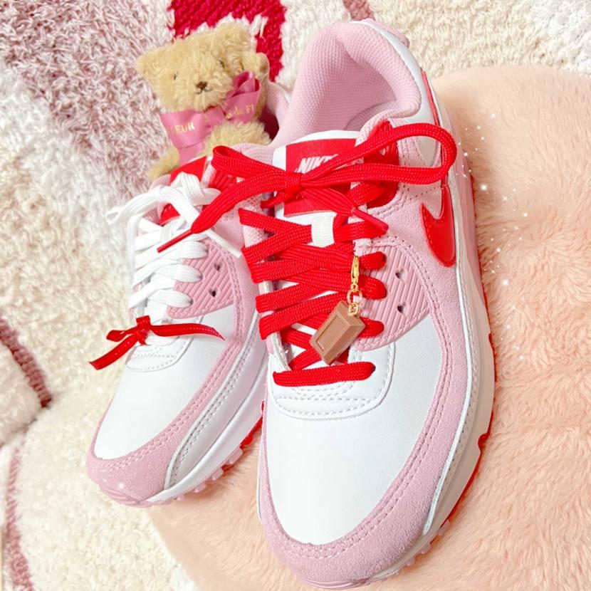 Happy Valentineday🐻🍫♡ 厚底、ピンクとかわいいもの大好きな