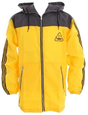 hideが好きで秋〜冬はよくラインパーカーを着るのですが袖の3本線がアディダス感